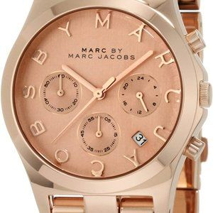Marc by Marc Jacobs | Rose Gold Blade Watch